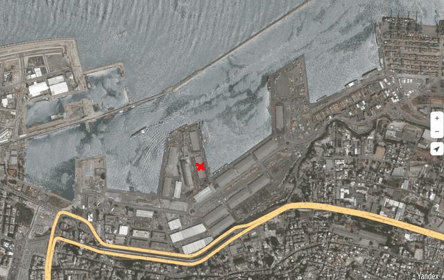 Beirut Hafen